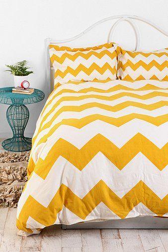 Zigzag Duvet Cover - Twin $79