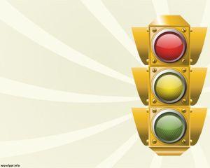Traffic Lights Ppt Latar Belakang Lampu Lalu Lintas Kreatif