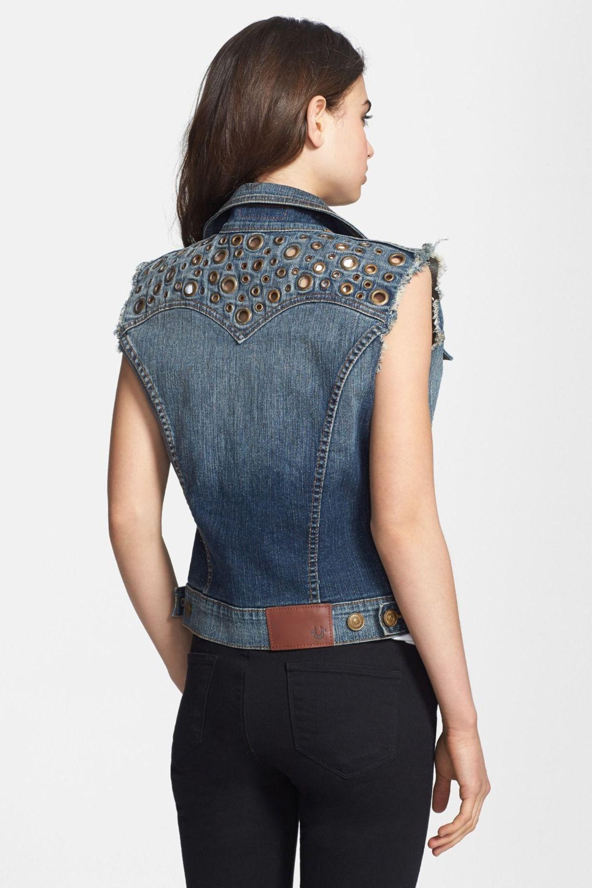 True Religion Brand Jeans 'Shelby' Embellished Denim