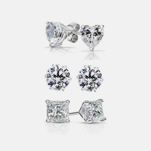 Tanga offers 90.7% Off (Save $136) 3-Pair Swarovski Elements Stud Earring Set for $13.98 published in Women Deals Click here to view deals >> http://ift.tt/1QvinFN