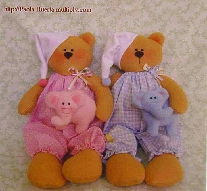 Urso pijama