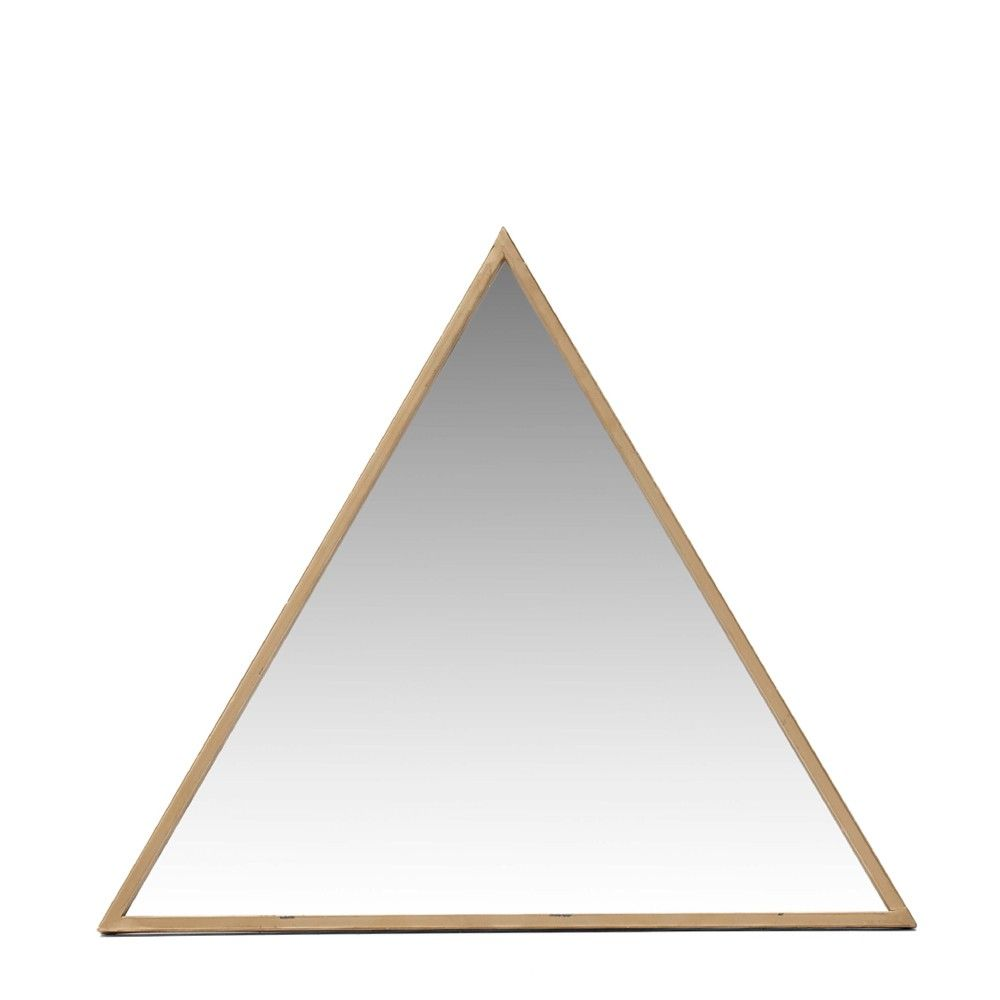 Gold Triangle Mirror   Gold Matters   Trends - Me and My Trend ...