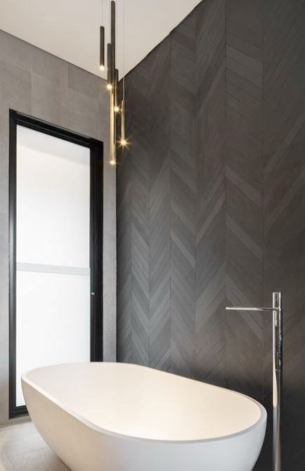 Contemporary Oak Bathroom Vanity Modern