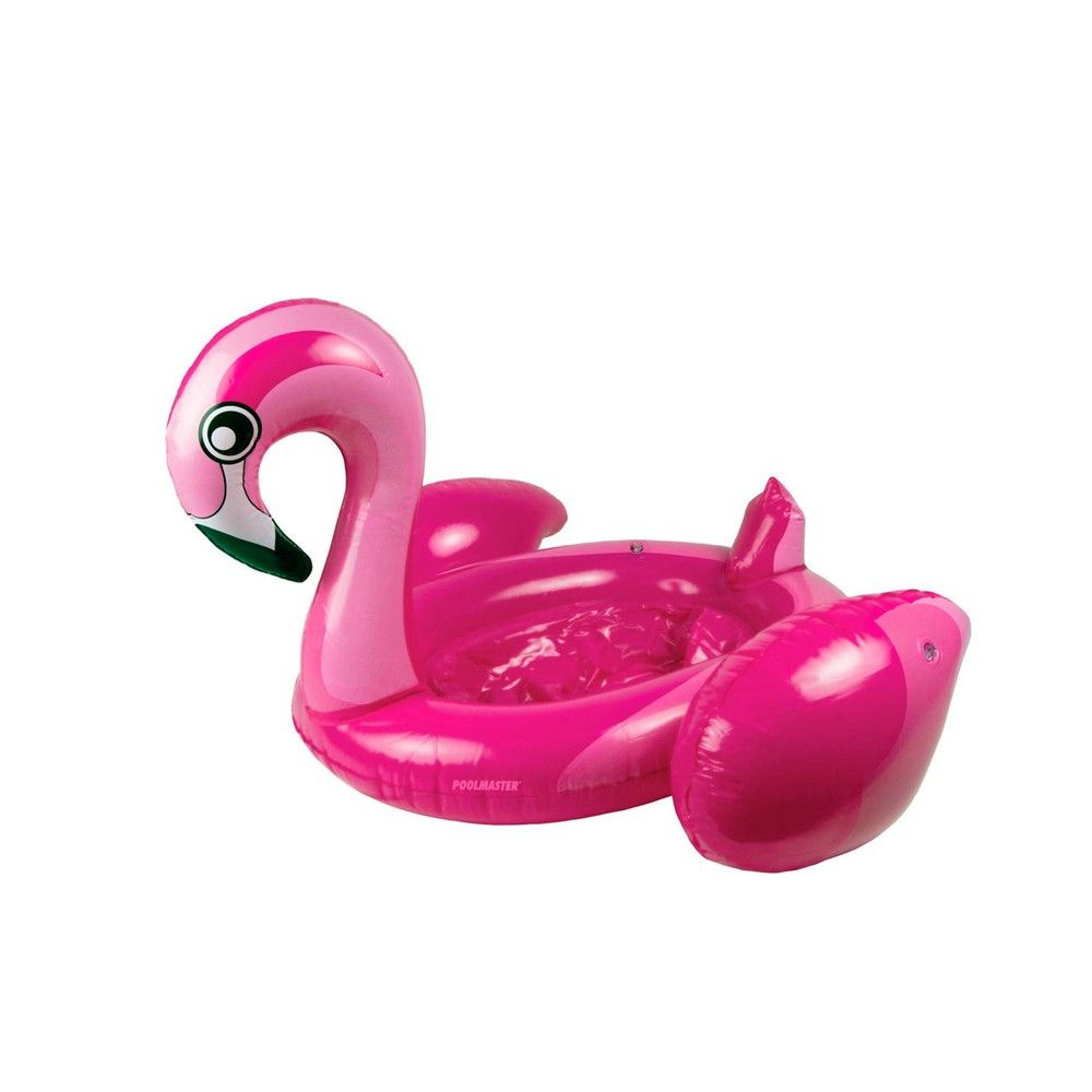 """Pool Master 28"""" Inflatable Flamingo Swimming Pool 24-Can ..."""