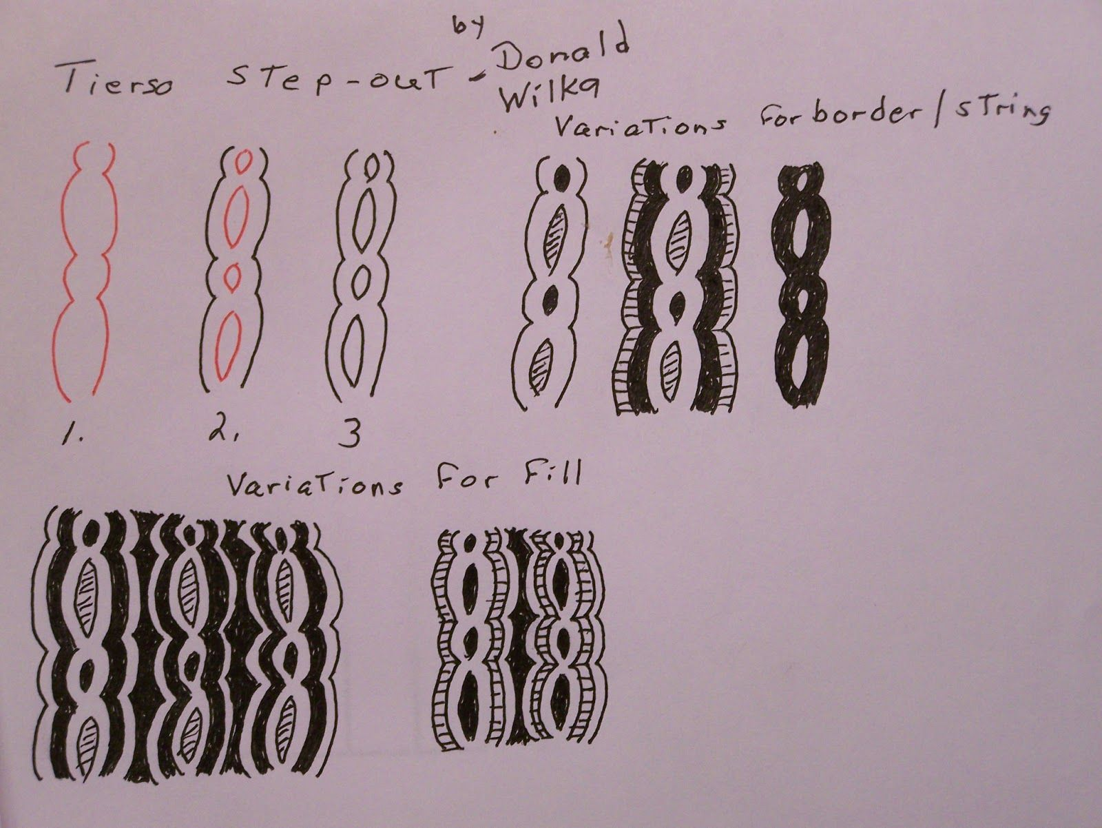Tangles and More: Tangleation, New Tangle, or just a pattern : Tierso
