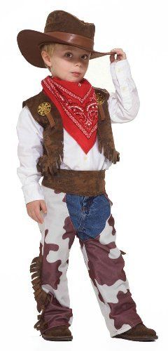 Forum Novelties Cowboy Kid Costume, Small by Forum Novelties,   - halloween kids costume ideas