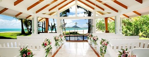 Cairns Weddings At Palm Cove Wedding With South Pacific Bridal Australia
