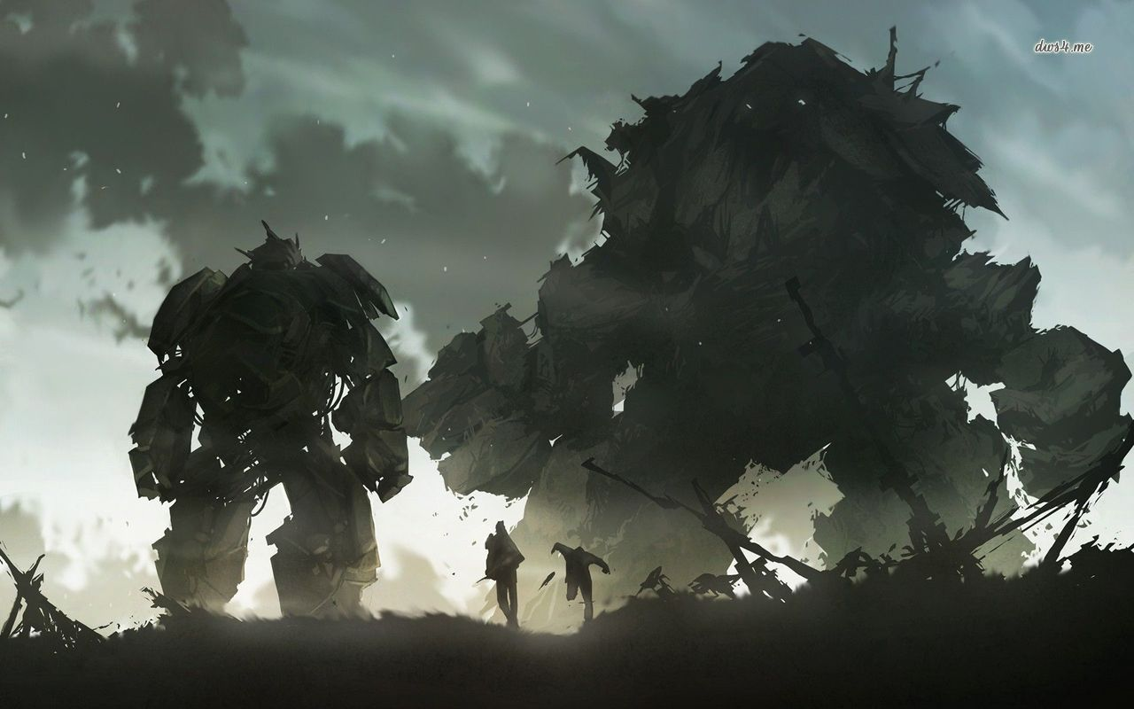 Shadow Of The Colossus Hd Wallpaper Shadow Of The Colossus