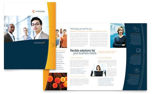 Free Brochure Template Sample Brochure Examples Design Ideas - Create free brochure templates