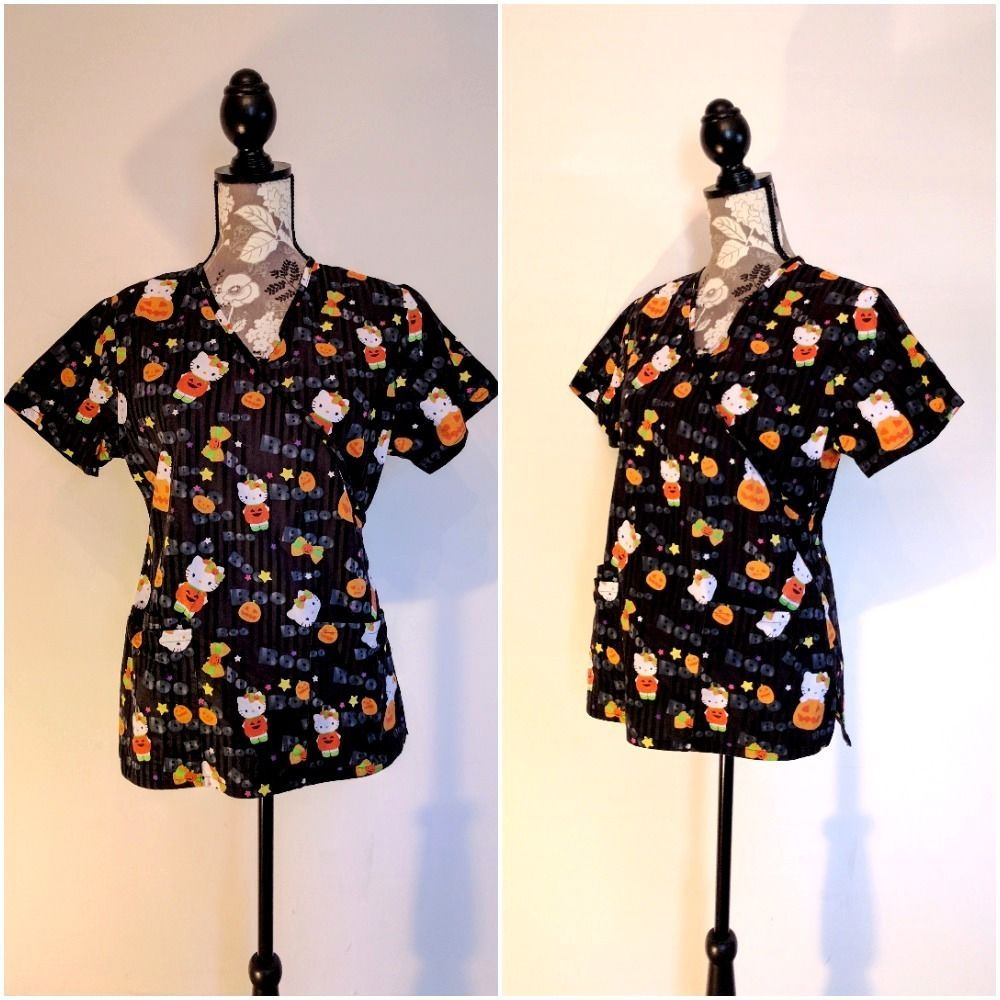 halloween scrubs - Halloween Scrubs Uniforms
