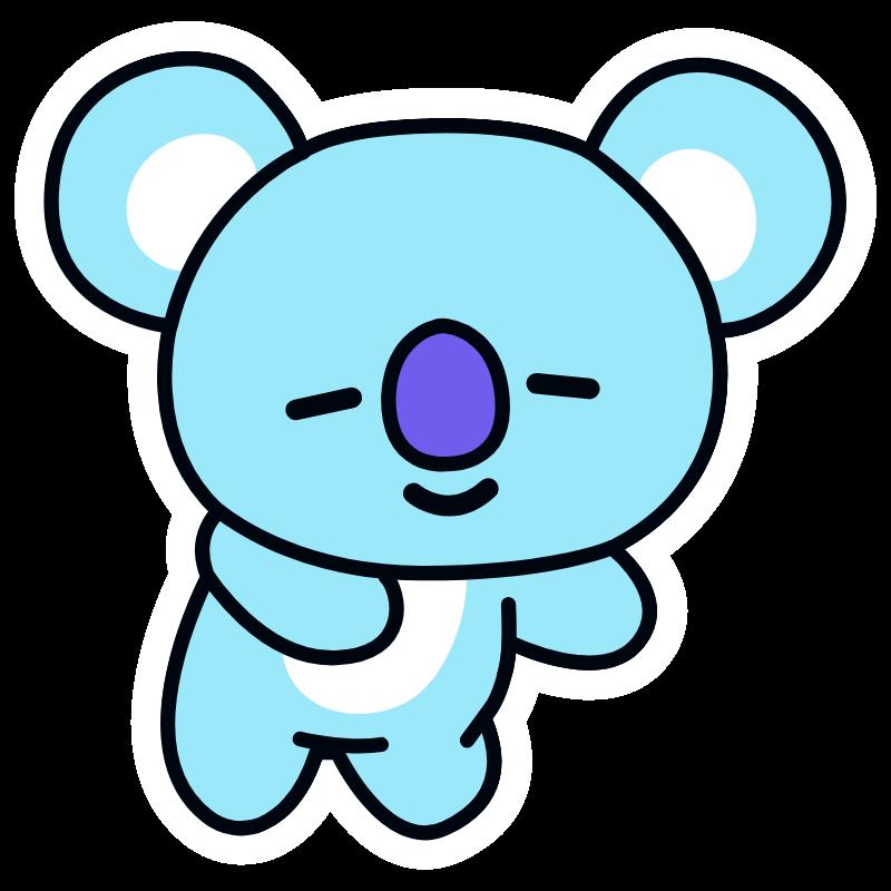 Bts Bt21 Koya Rm Bts Emoji Bts Drawings Easy Drawings