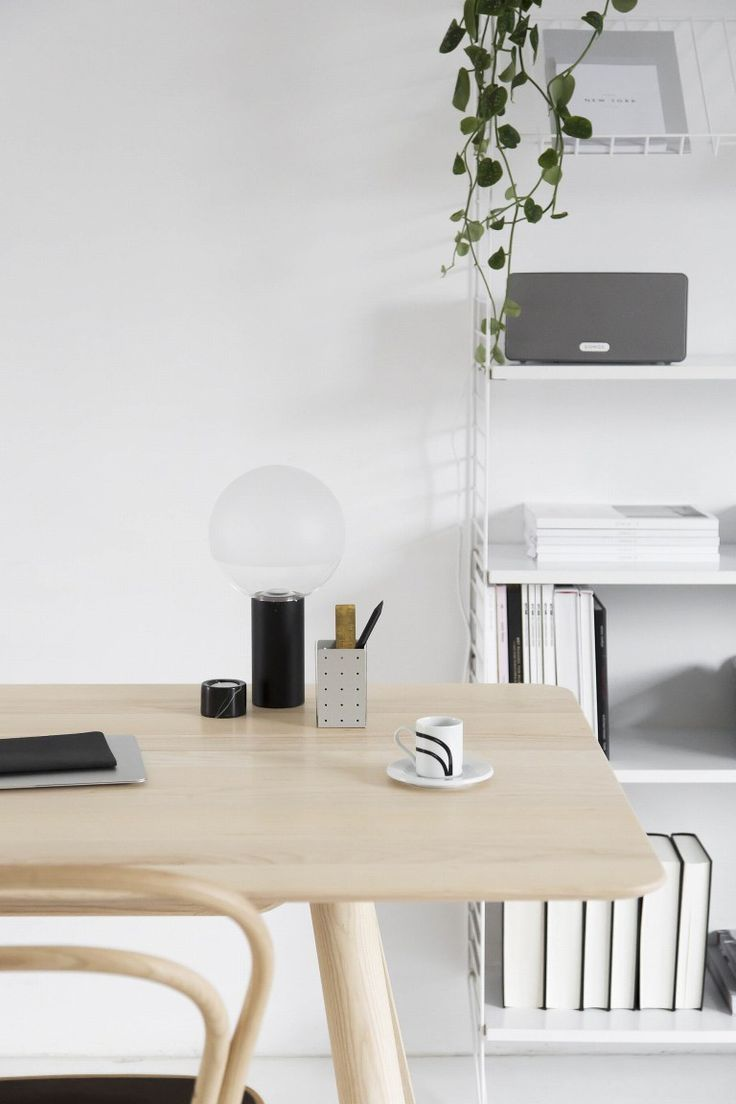 Thonet & Beeldsteil - via Coco Lapine Design blog | Workspace ...