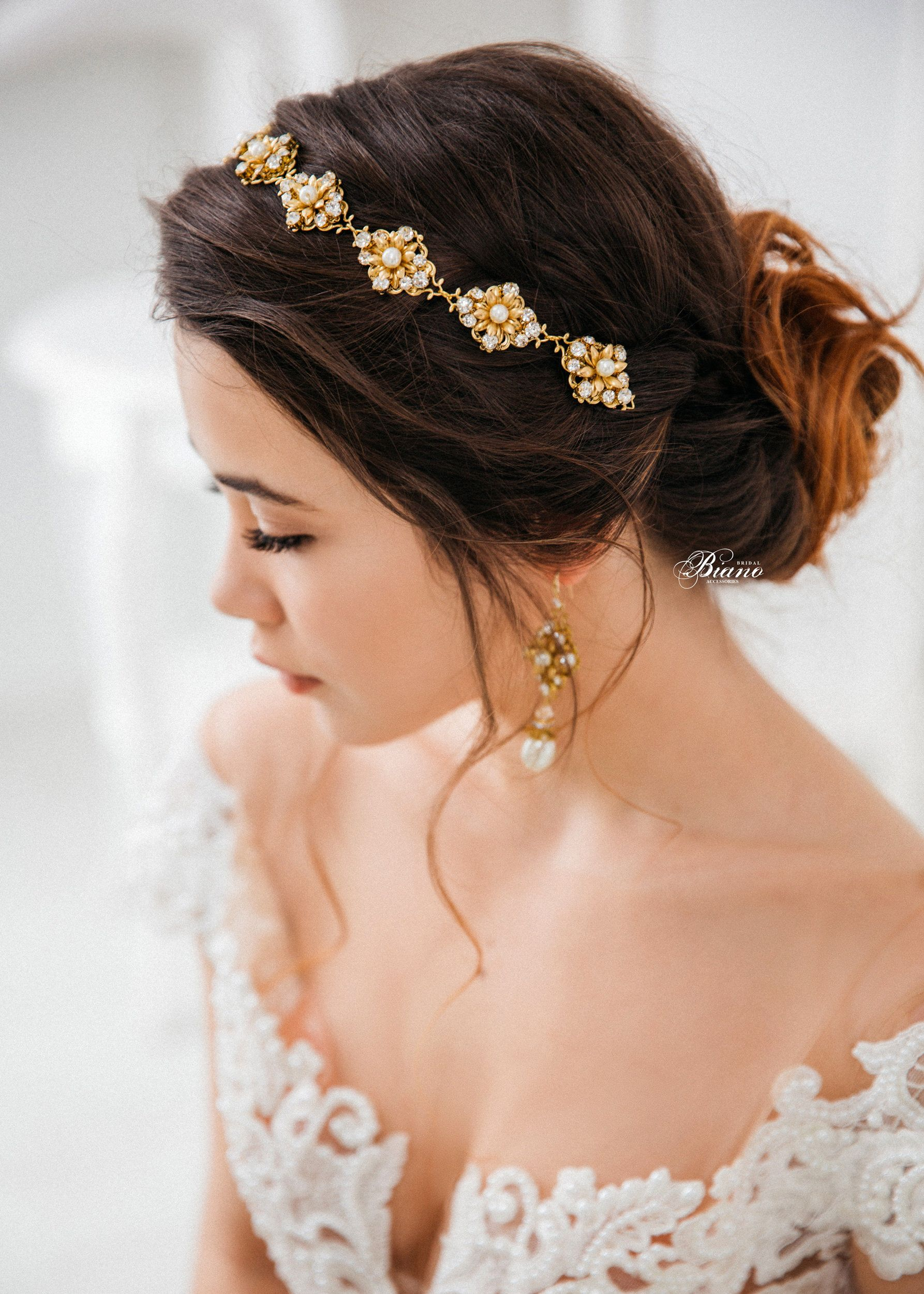 wedding hair accessory, wedding headband, bridal headpiece