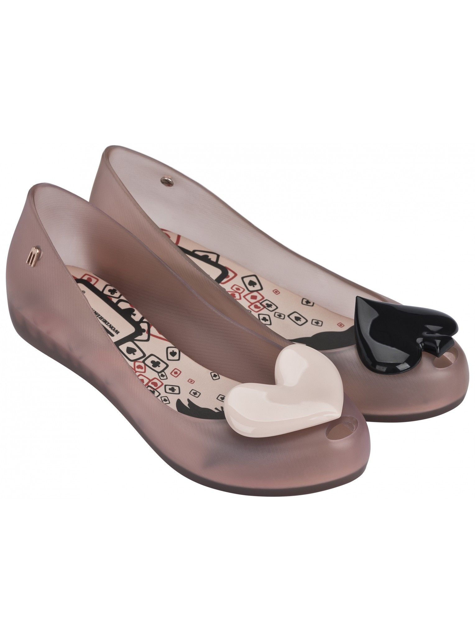 Alice Ultragirl Blush Heart | Alice In Wonderland + Melissa Shoes | NONNON.co.uk