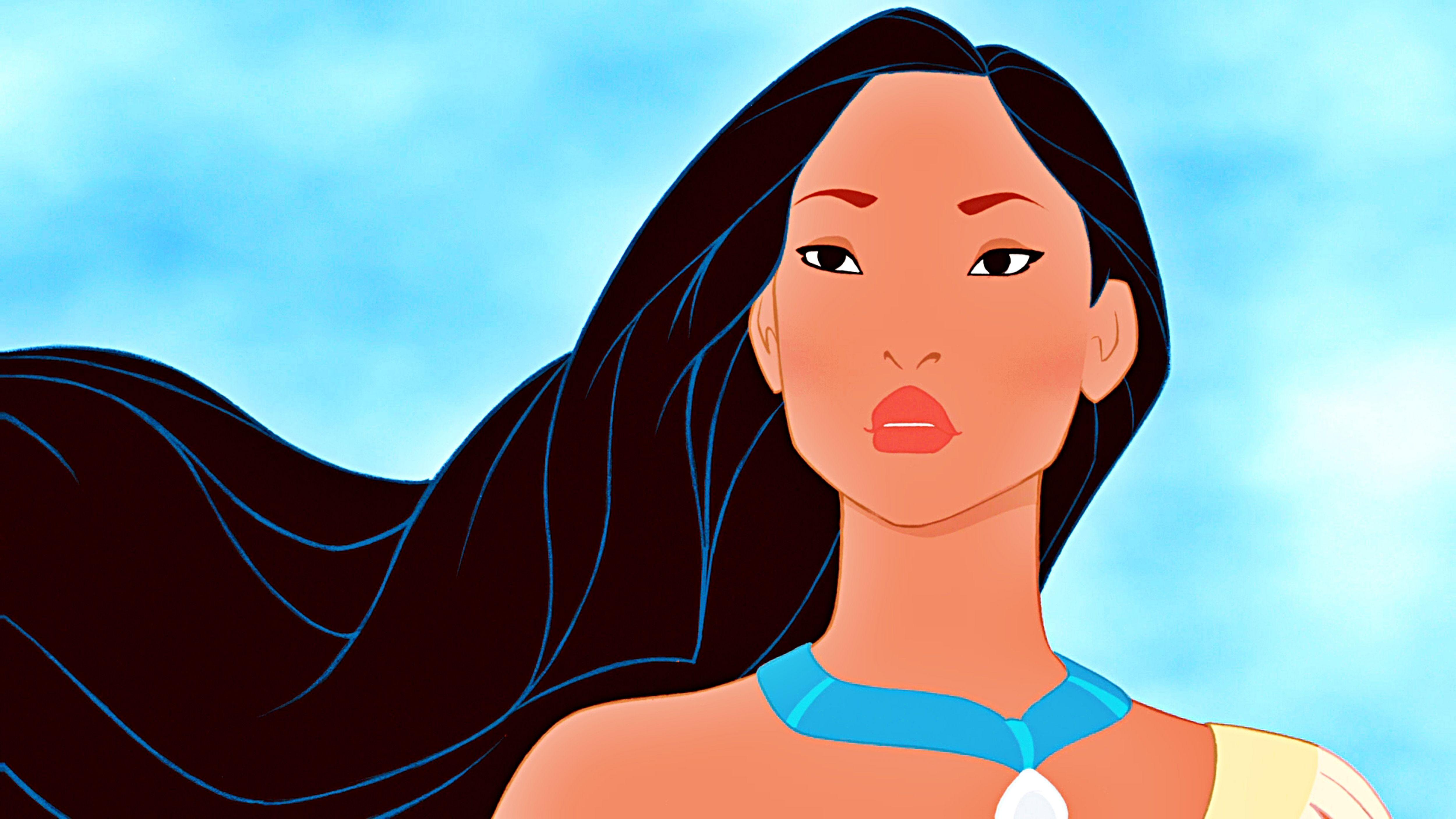 New Disney Princess Pocahontas Cartoon