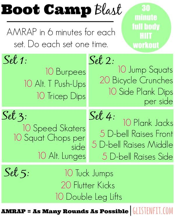 Full Body Hiit Workout To Burn Fat Click The Link For A