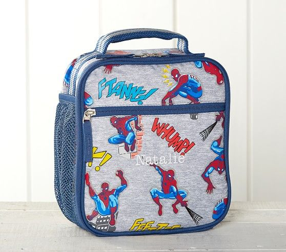 Marvel Glow In The Dark Spider Man Cold Pack Lunch Box