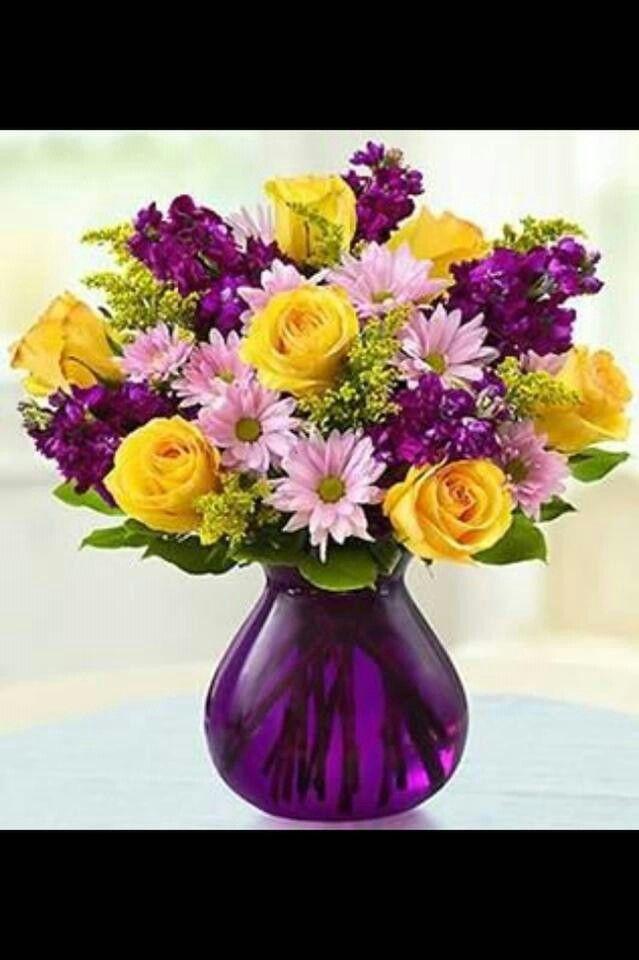 Pretty purple   Floral...