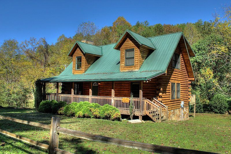 Pet Friendly Bryson City Nc Vacation Rental For Families Log Cabin Rustic Bryson City Cabin Rentals Cabin