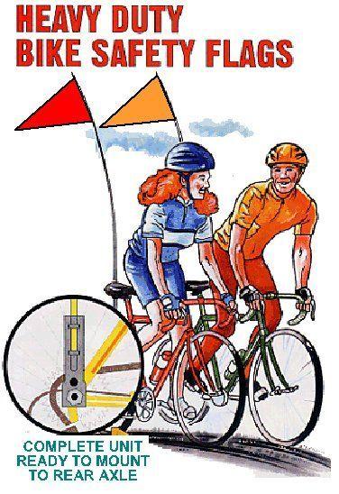 Bike Safety Flag Google Search Bicicletas