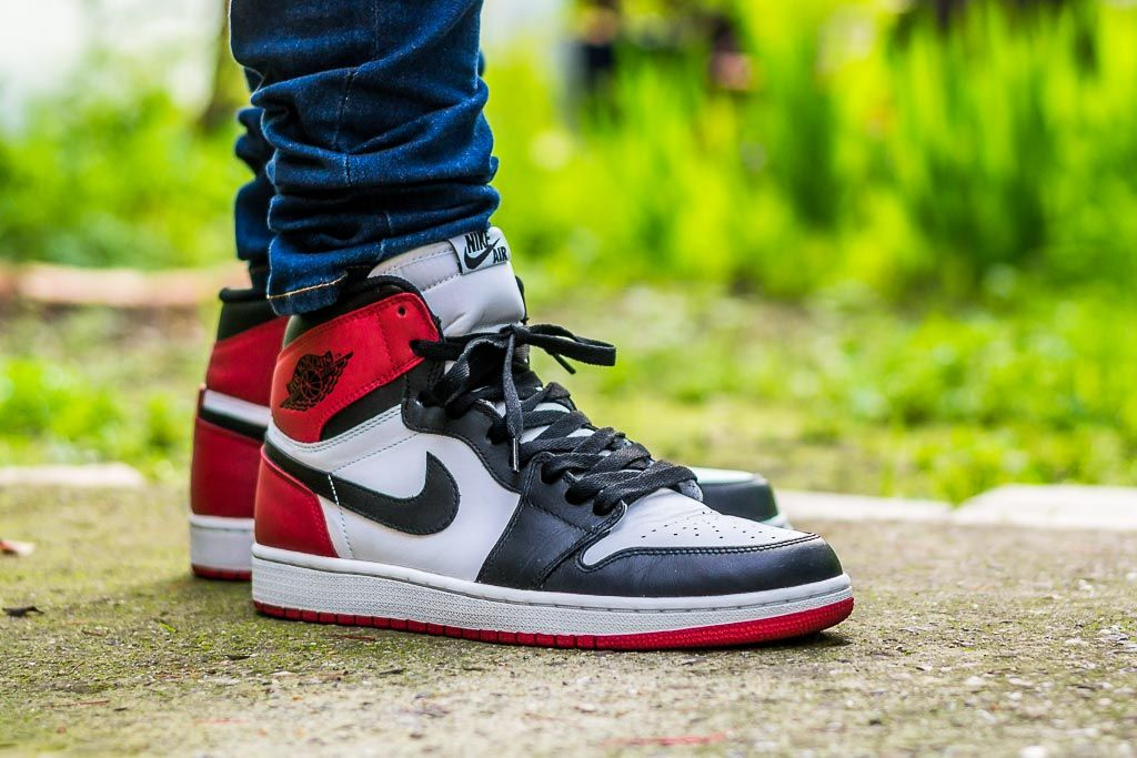 Air Jordan 1 Retro Og High Black Toe On Feet Sneaker Review Air Jordans Jordan 1 Black Black Toe