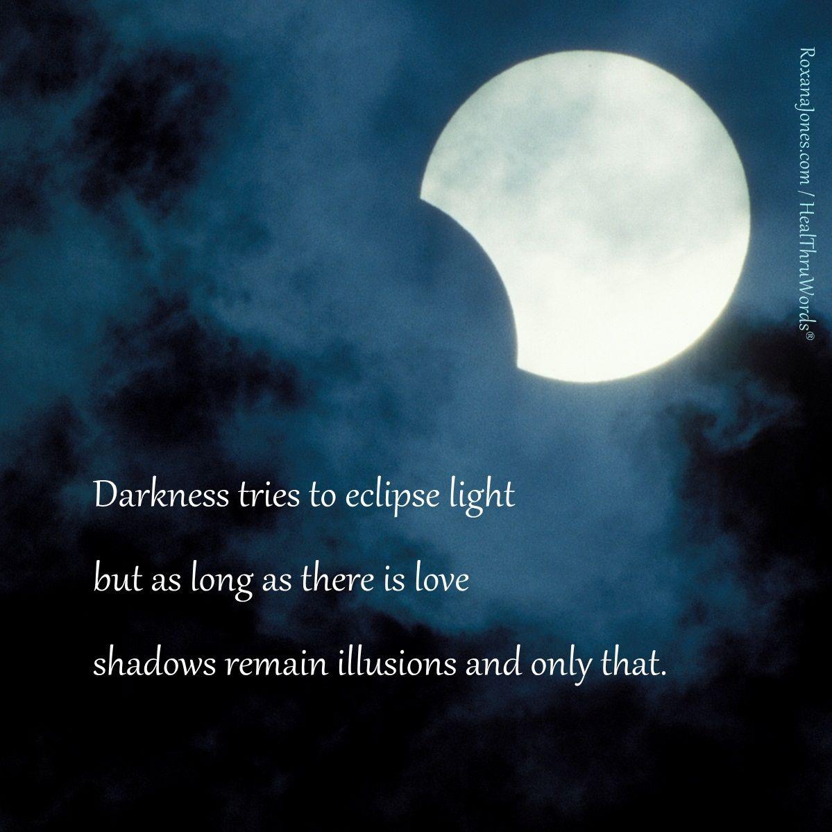Inspirational Quote Happy Lunar Eclipse Spiritual Quotes