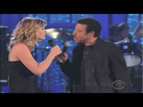 Lionel Richie & Jennifer Nettles -* HELLO - MGM Red Carpet -9