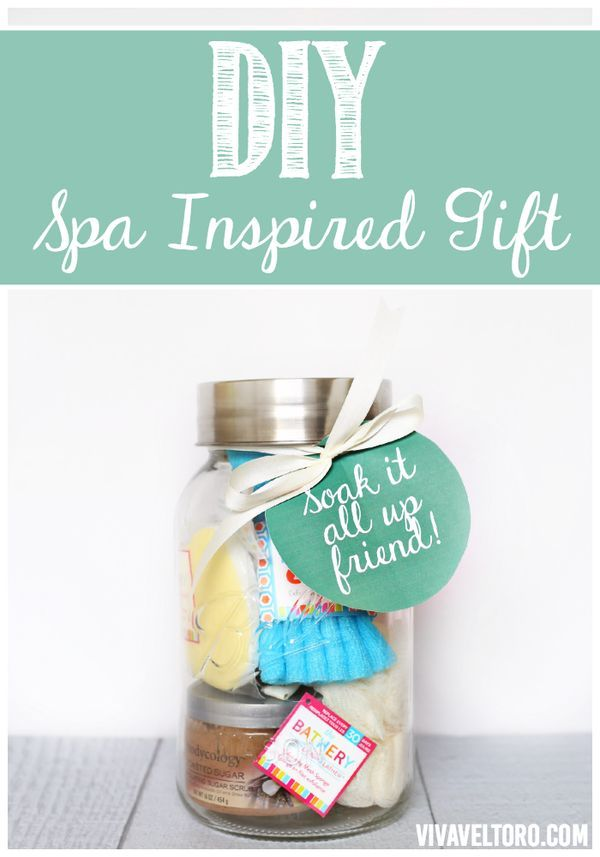 DIY spa inspired gift. Create perfect pairings of your favorite bath ...