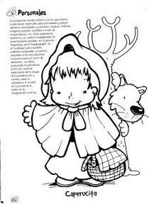 Cosillas De Infantil Cuento Caperucita Roja Español