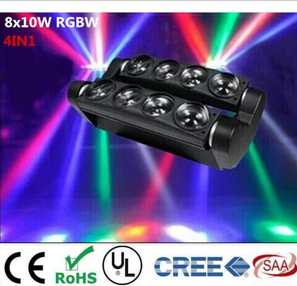 Photo of New Moving Head Led Spider Light 8x6W / 8x12W  RGBW Led Part…
