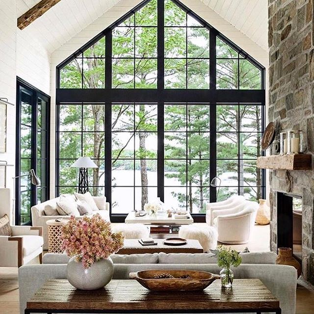 Anne Hepfer S Canadian Summer House Is Full Of Rustic Chic Decor