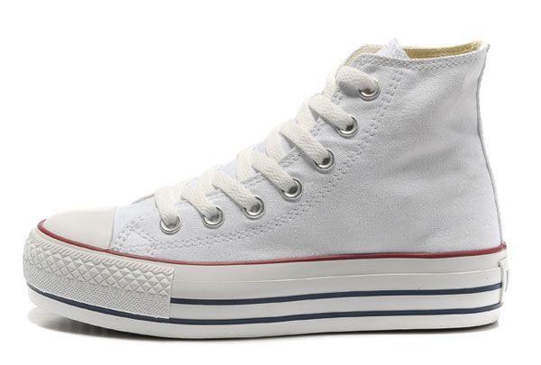 converse shoes - Converse All Star High Top Platform classic beige