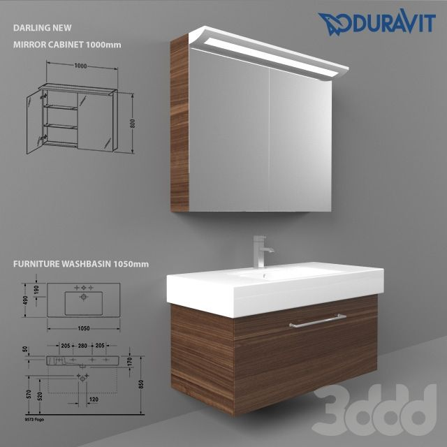 Duravit Furniture Washbasin 1050