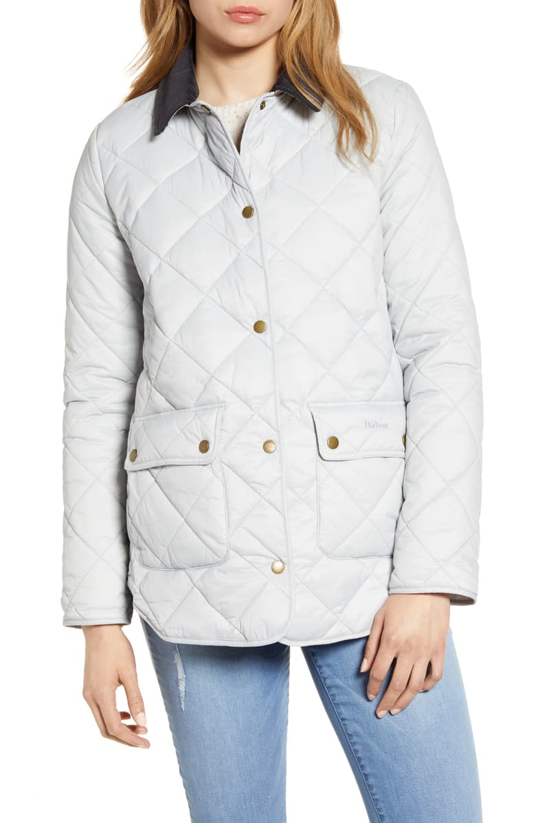 barbour oakland quilted jacket