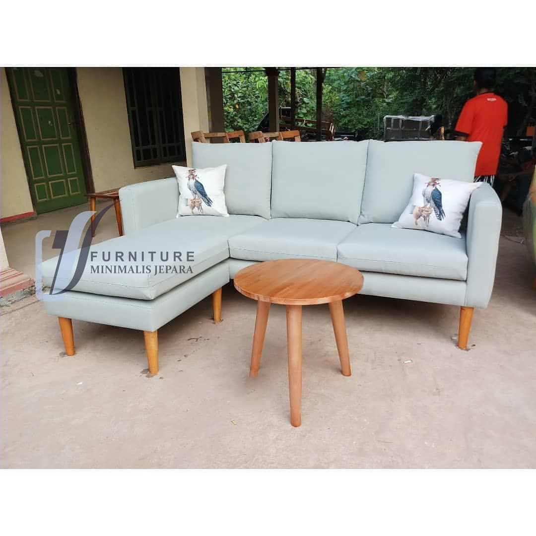 Sofa Scandinavian Letter L Spesifikasi Size P 200x L 169 Kain Canvas Kerangka Mahoni Finishin Outdoor Sectional Outdoor Sofa Outdoor Sectional Sofa