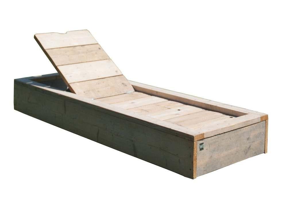 Naar voorbeeld van de steigerhout tuinbed bouwtekening