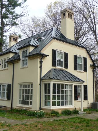 Kynar Charcoal Standing Seam Metal Roof | Old Slate Roof With A Gorgeous  Charcoal Gray Standing