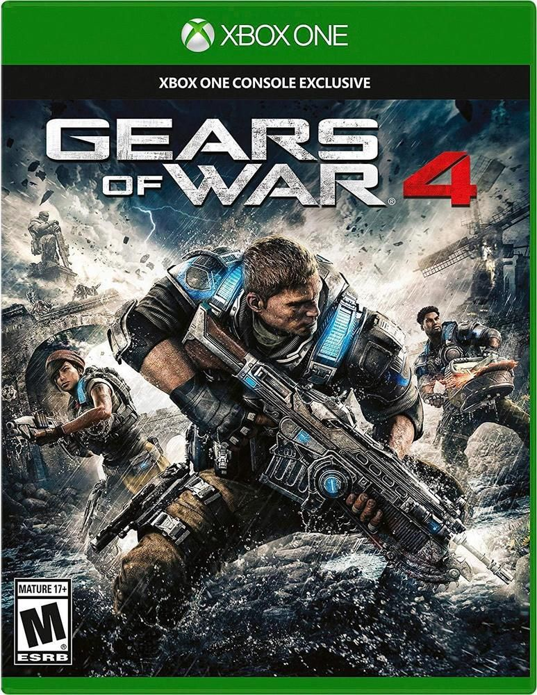 Gears of War 4 Import version North America Xbox One Free