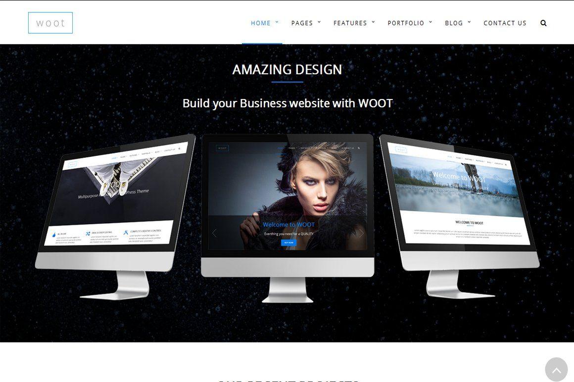 wootMultipurpose Responsive WPTheme Custom portfolio