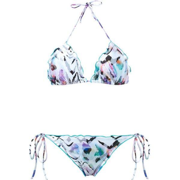 triangle bikini set - Pink & Purple Brigitte Outlet Supply Best Seller Authentic Cheap Price Fashionable Online hNTt7