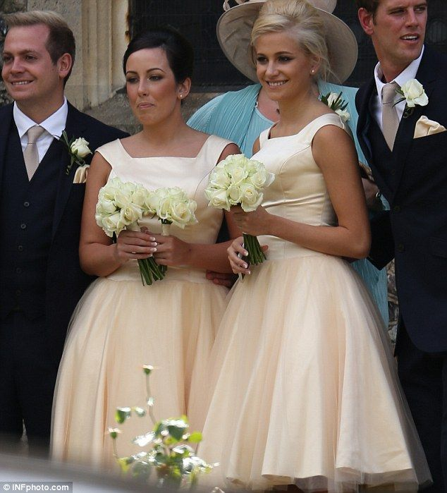 Pixie Stuns In Rich Cream Gown As She Takes On Maid Of Honour Role At Her Sister S Wedding