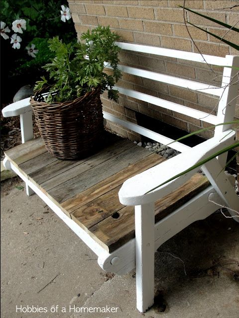 Incredible Simple White Outside Bench It Would Look Great With A Andrewgaddart Wooden Chair Designs For Living Room Andrewgaddartcom