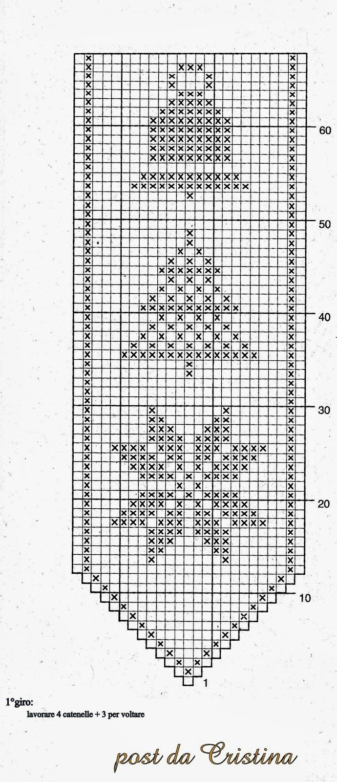 Tischband Weihnachten | Häkeln / crochet / crocheté_diverses ...
