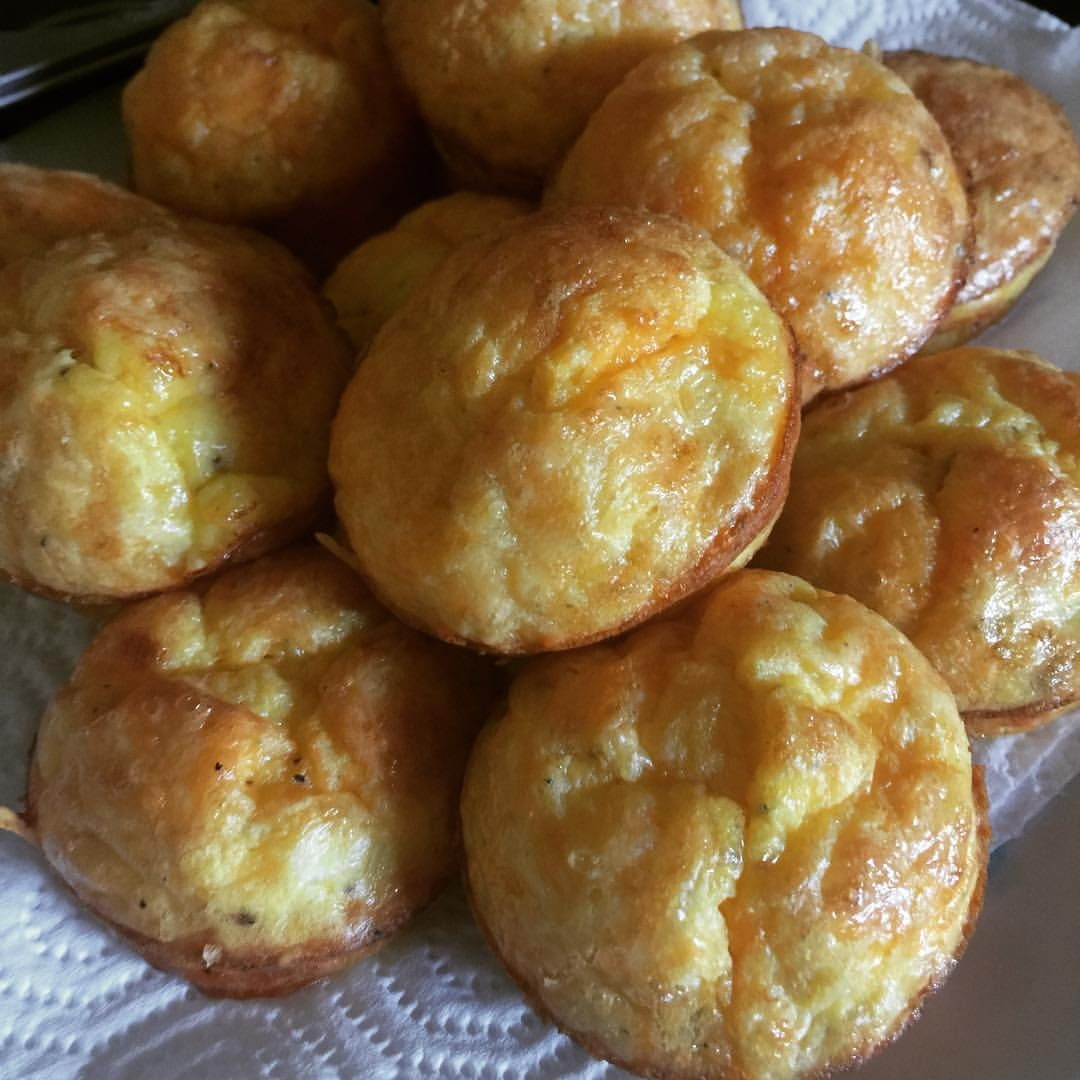 Pimiento Cheese And Ham Scramble: Easy Cheesy Ham And Pimento Cheese Egg Muffins For