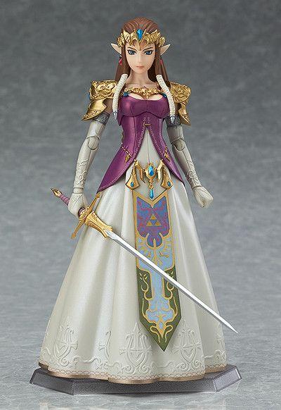 Good Smile The Legend of Zelda Twilight Princess Zelda Figma Action Figure