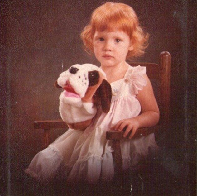 Jessica Chastain as a BABY!
