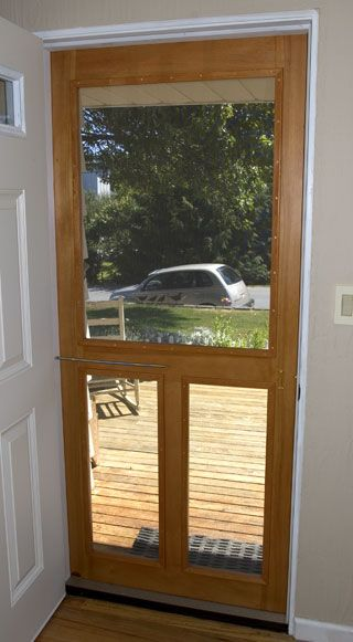 High Quality The RunnerDuck Screen Door Plan, Is A Step By Step Instructions On How To  Build