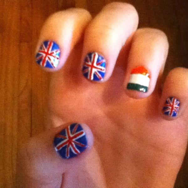 Ireland and England flag | One direction | Pinterest