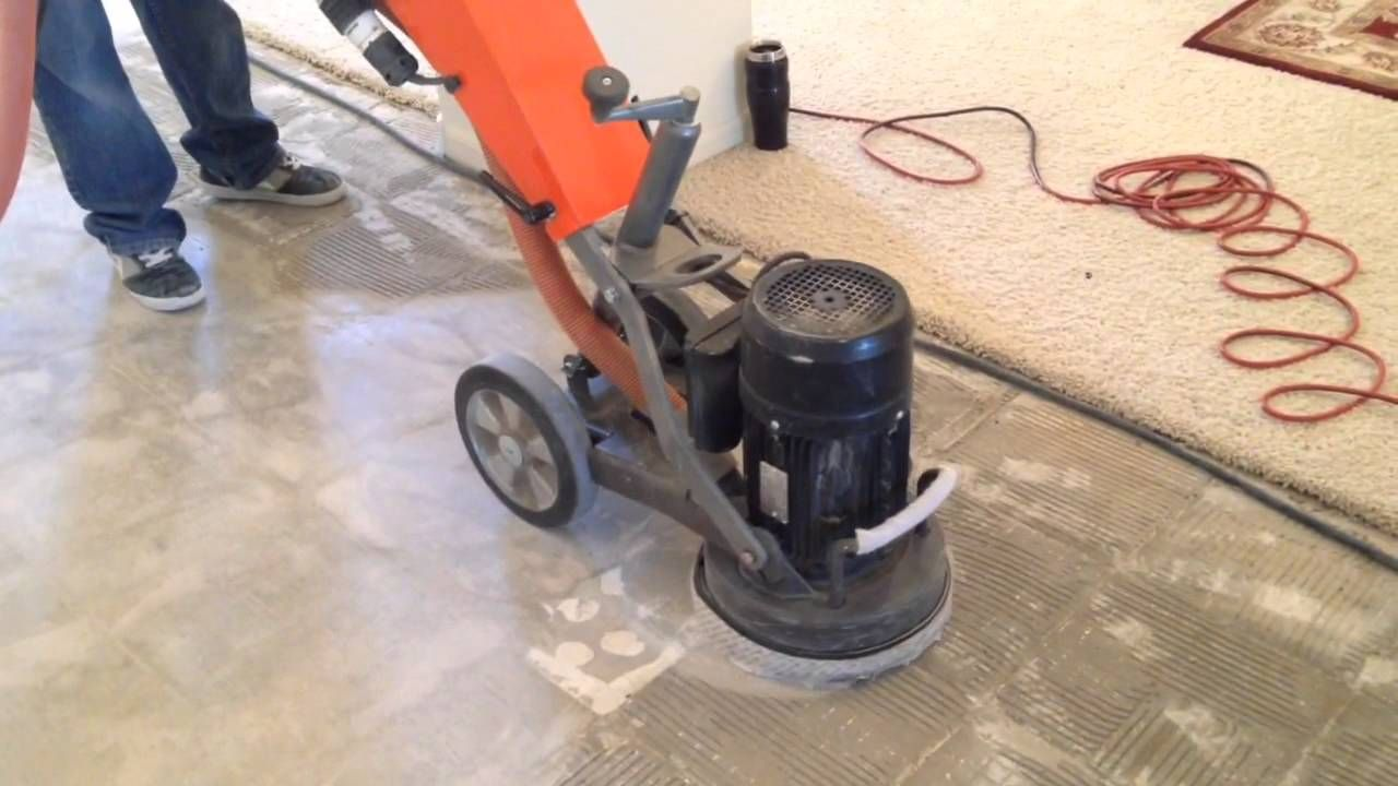 Grinding Thinset Removal After Tile Demolition Tile Removal