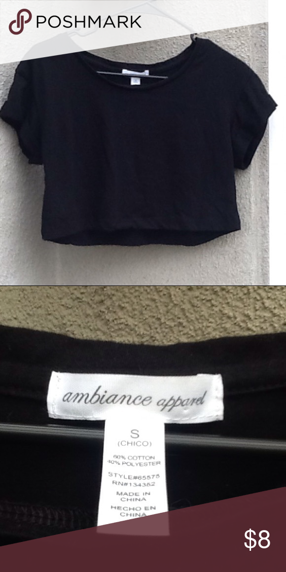 Ambiance Apparel Crop Top Very Stylish Ambiance Apparel Crop Top In